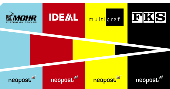 Neopost can also provide you with first-rate accessories from brands like Multigraf, Mohr, Ideal and FKS...