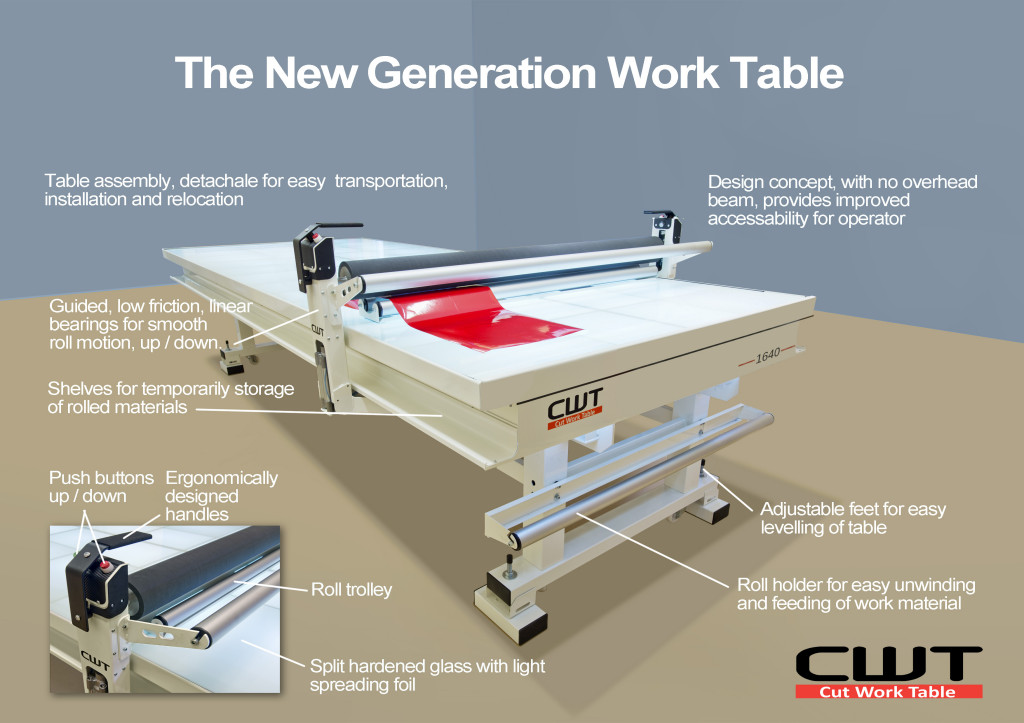 Image of CWT Flat Bed Applicator table