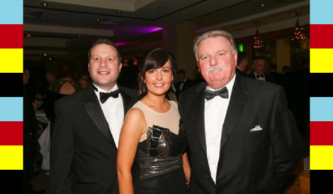John Jennings, Yvonne Maguire and Ken Dowd of Neopost Ireland...