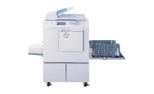 The Duplo DP-U550 Duplicating system