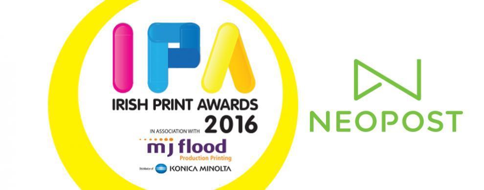 Irish Print Awards Neopost Banner