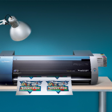 Roland BN-20 Desktop Printer with Contour Cutting
